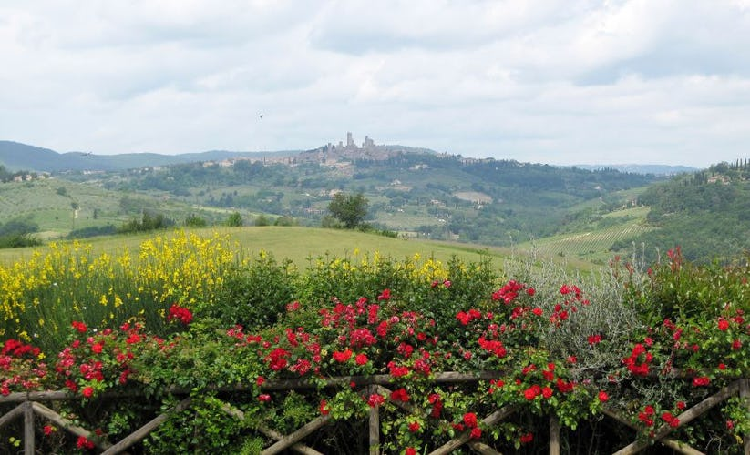 Special little Tuscan hamlets are only a short distance away