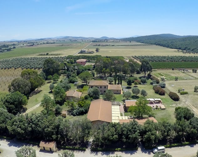 Tenuta Agricola dell'Uccellina: Panoramic  view in the National Park of the Maremma