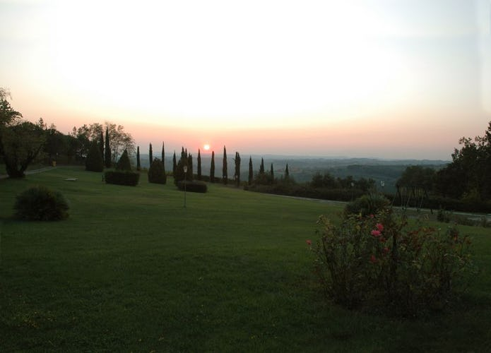 View From Casa Rossa Chianti Villa