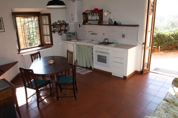 Sunny kitchens, with spectacular views over Tenuta San Vito