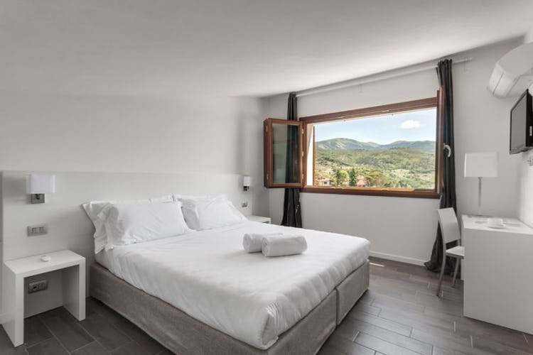 Lovely panoramic views from The Florence Hills Luxury Resort