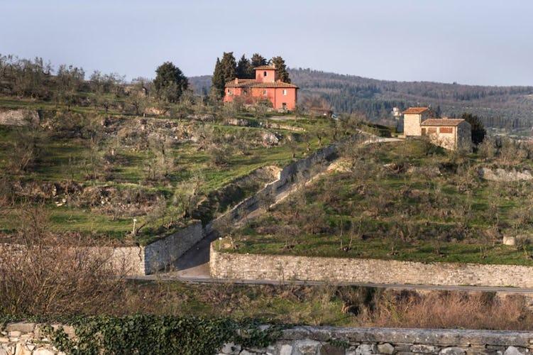 Florence farmhouse villa Torre a Cona