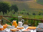 Torre Palaetto offers a full breakfast with wonderful views