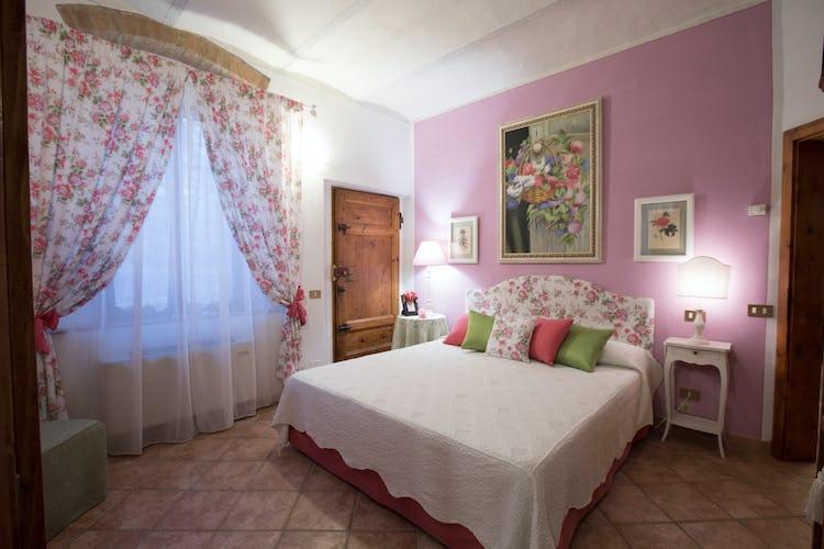 6 private double bedrooms at the B&B Villa Alba