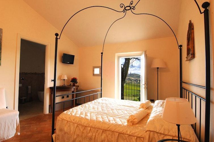 Quel tocco di romanticismo che contraddistingue le camere della villa