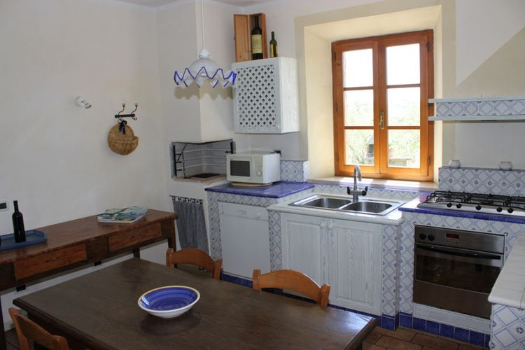 Cucina villa a Monteroni d'Arbia