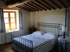 Camera blue villa vicino a Siena