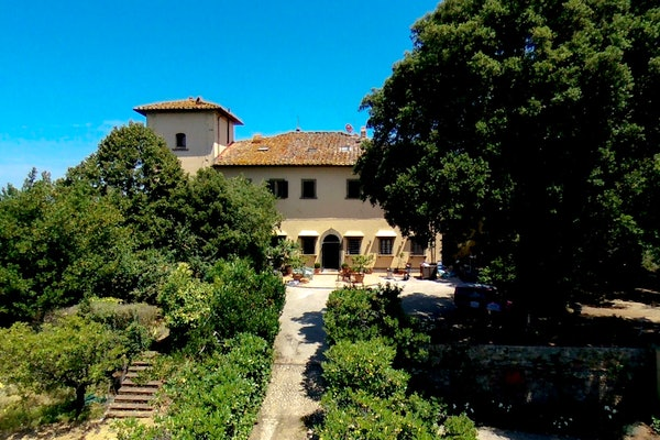 Villa Fillinelle - Facciata e Giardino