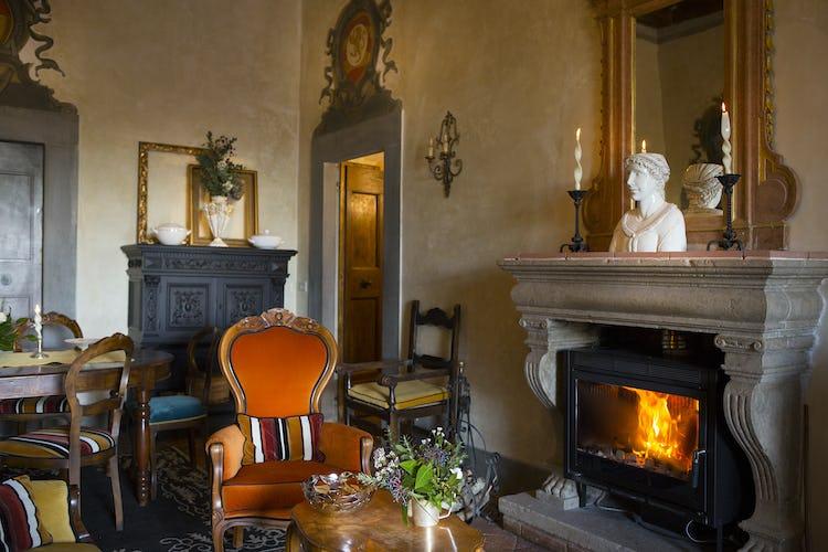 Villa Fillinelle: Arredo originale