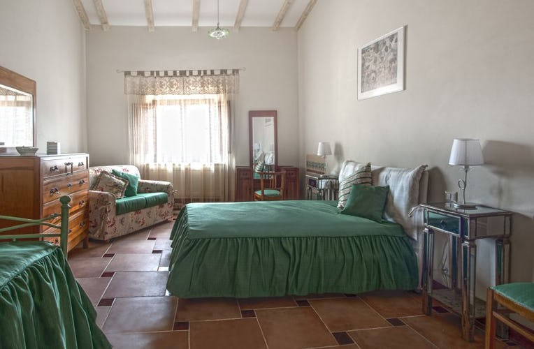 Each apartment has two full size bedooms at Villa Humbourg