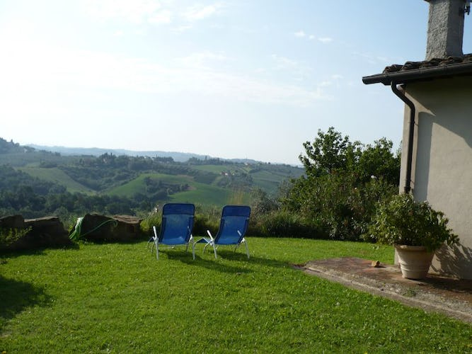 Family estate near Florence with holiday apartments Villa i Lami