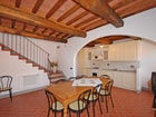 Villa Montegufoni has two independent restored farmhouses