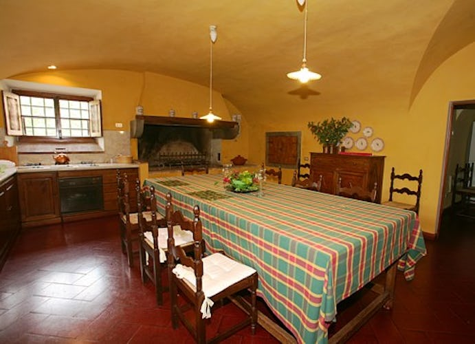 Villa il Turco is furnished with stove, dishwasher & clotheswasher