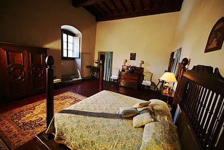 Spacious rooms in a truly unique context at Villa il Turco