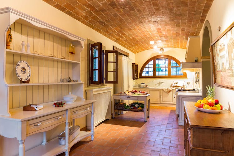 Villa La Fonte Vacation Rental - lovely brick arches