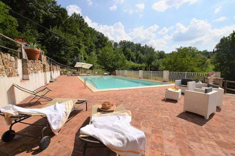 Villa La Fonte Vacation Rental - lush green countryside
