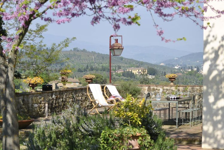 Villa La Medicea and the Chianti Hills