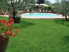 The Garden & the Pool at Villa le Torri Tuscany