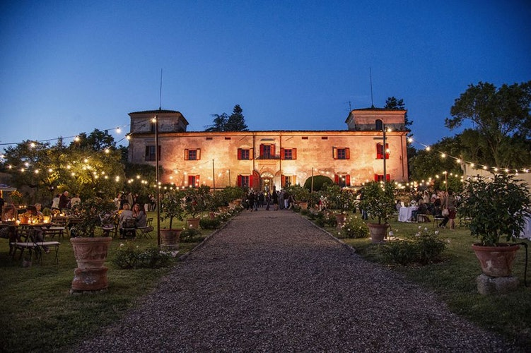 Create a fairytale atmosphere for your special event at Villa Lilliano