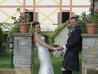 Gli sposi a Villa Rossi Mattei