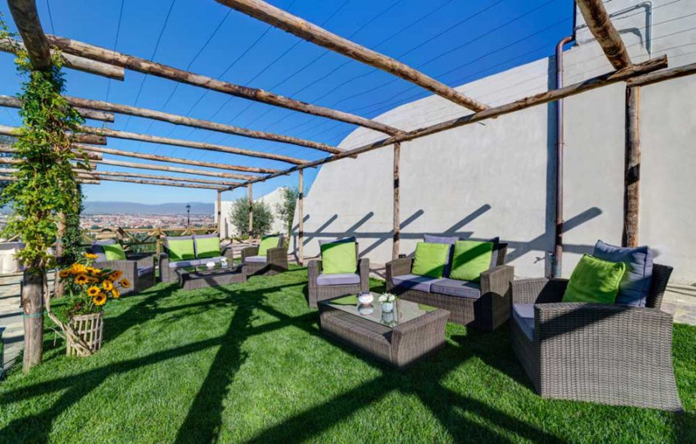 Villa tolomei hotel resort firenze hotel a 5 stelle a due for Giardino orticoltura firenze aperitivo