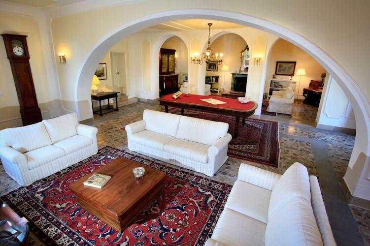 Villa Vianci salotto