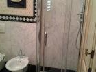 La doccia, comoda e spaziosa