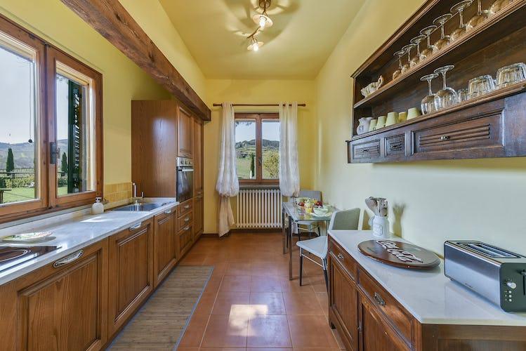 Fattoria Viticcio Rental Apartments & Vineyard: fantastic views from every corner