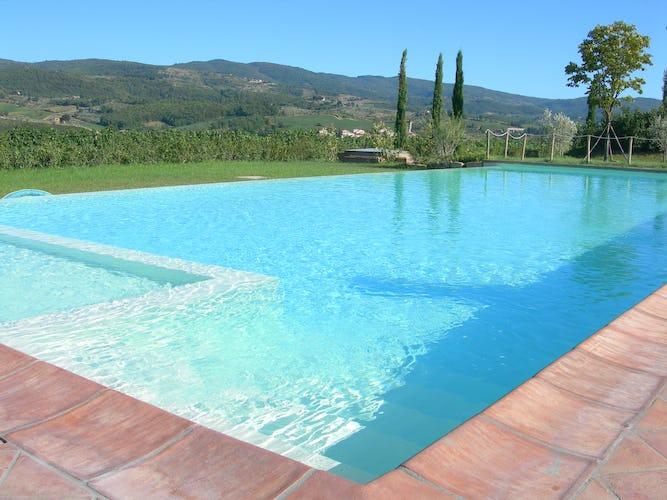 Fattoria Viticcio Rental Apartments & Vineyard: large shared pools